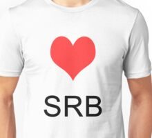 Love Serbia Unisex T-Shirt