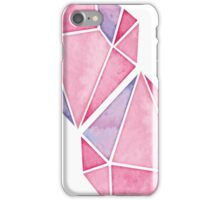 Simple Pink Diamond Mosaic iPhone Case/Skin