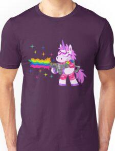 Bad-Ass Barney The Unicorn Unisex T-Shirt