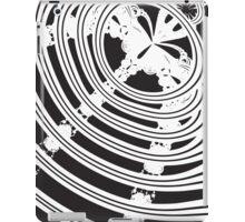 Monochrome Fan iPad Case/Skin