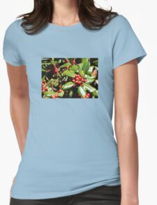 Southern Mistletoe  Womens Fitted T-Shirt