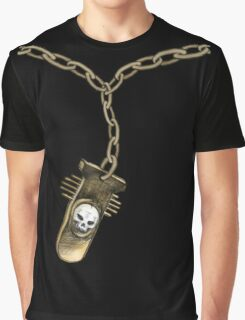 Goth Pendant Graphic T-Shirt