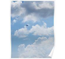 Big Blue Sky Poster