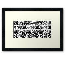 Original Six Framed Print