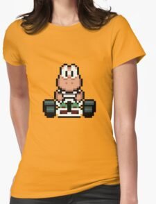 Yoshi - Mario Kart Womens Fitted T-Shirt