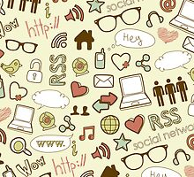 Social Media Icons by SpiceTree