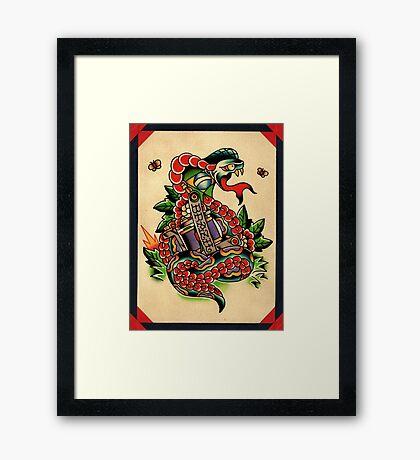 Brazilian Snake Framed Print