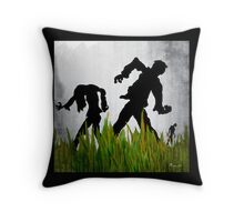 RUN! Throw Pillow