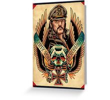 Lemmy Von Motorhead Greeting Card