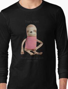 A Dope Ass Sloth Long Sleeve T-Shirt