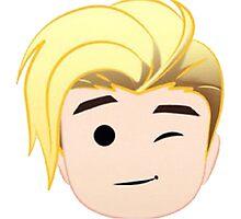 JustMoji Emoji - Justin Bieber , For Beliebers Photographic Print