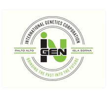 inGEN Corporation Art Print