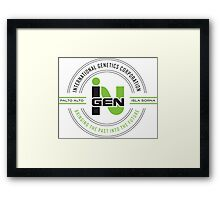 inGEN Corporation Framed Print