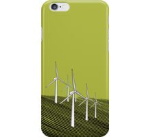 Wind Farm Olive iPhone Case/Skin