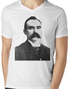 James Connolly Tee Mens V-Neck T-Shirt