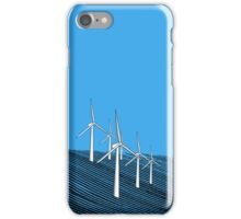Wind Farm Ocean iPhone Case/Skin