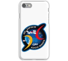 Wakata Personal ISS-39 Patch iPhone Case/Skin