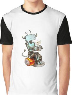 Tea Bot Graphic T-Shirt
