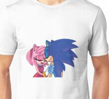 Sonamy - Sonic The Hedgehog Unisex T-Shirt