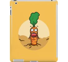 Vegetables, run! iPad Case/Skin