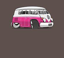 VW T1 Microbus cartoon pink Unisex T-Shirt