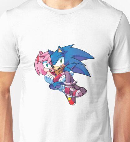 Sonic Boom - Sonic & Amy Rose Unisex T-Shirt