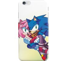 Sonic Boom - Sonic & Amy Rose iPhone Case/Skin