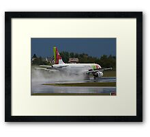 TAP Portugal Framed Print