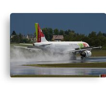TAP Portugal Canvas Print