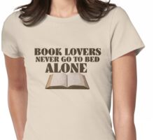 Book lover Womens Fitted T-Shirt