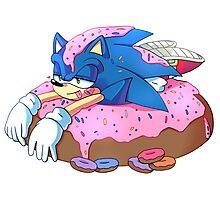 Doughnut Heaven - Sonic the Hedgehog Photographic Print