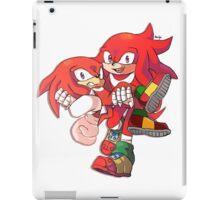 Knuckles & Knuckles iPad Case/Skin