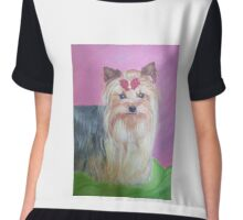 Yorkshire Terrier Chiffon Top
