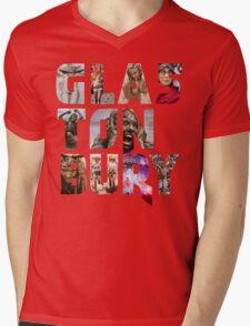 GLASTONBURY FESTIVAL MUD 2016 DESIGN Mens V-Neck T-Shirt