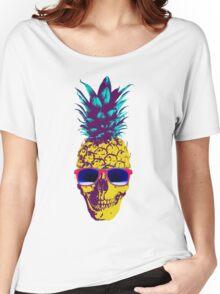Pineapple Skull Women's Relaxed Fit T-Shirt