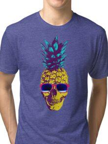 Pineapple Skull Tri-blend T-Shirt