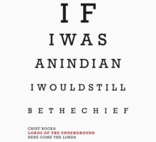 Indian Eye Chart by SDuvillier