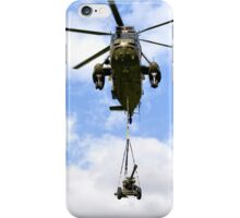 Royal Navy Westland Sea King HC.4 Helicopter iPhone Case/Skin