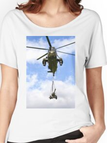 Royal Navy Westland Sea King HC.4 Helicopter Women's Relaxed Fit T-Shirt