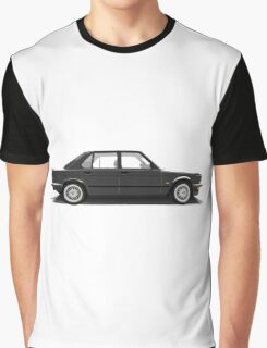 BMW M5 (E28) (black) Graphic T-Shirt