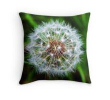 Tampopo (Dandelion) Throw Pillow