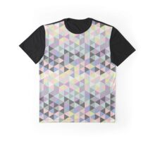 Triangles fun in pastel colors Graphic T-Shirt