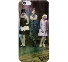 Interval at the Circus iPhone Case/Skin