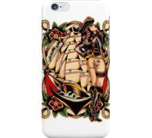 Sexy Pirate Girl iPhone Case/Skin