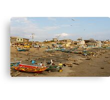 Engabao Beach, Ecuador Canvas Print