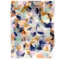 Lee - Abstract Brush Strokes Poster