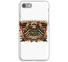 Black Eyes Made Natural (PT-BR) iPhone Case/Skin