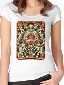 Freemasons Women's Fitted Scoop T-Shirt