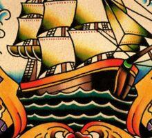 Sailing Ship Sticker