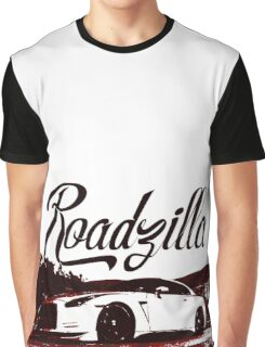 Nissan GTR - Roadzilla Graphic T-Shirt